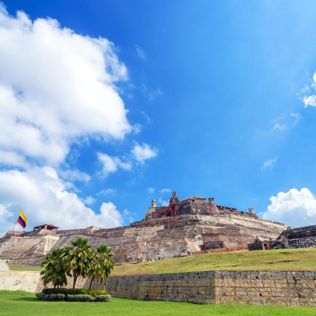 """""""San Felipe de Barajas Castle"""" stock image"""