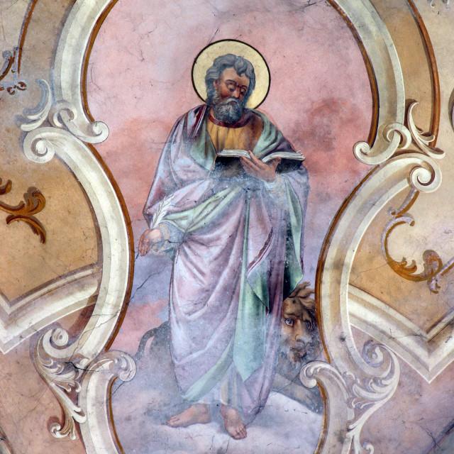 """Saint Mark the Evangelist"" stock image"