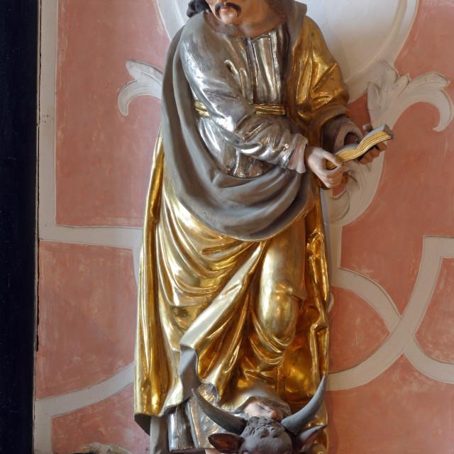 """St Luke the Evangelist"" stock image"