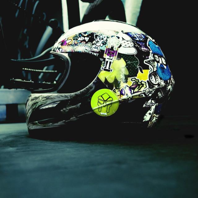 """""""Extreme helmet"""" stock image"""