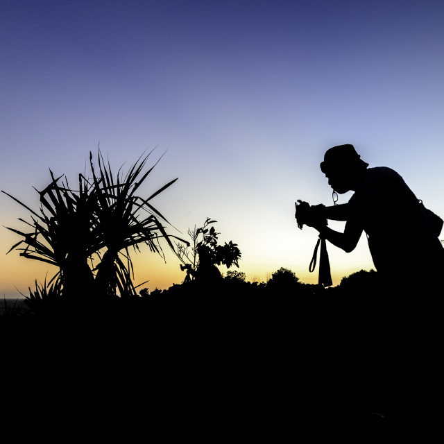 """""""photographer and nature"""" stock image"""