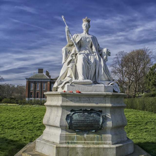 """Queen Victoria"" stock image"