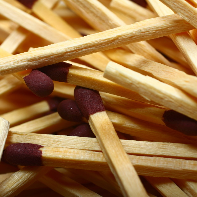 """""""Safety matches"""" stock image"""
