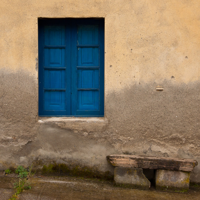 """Blue window"" stock image"