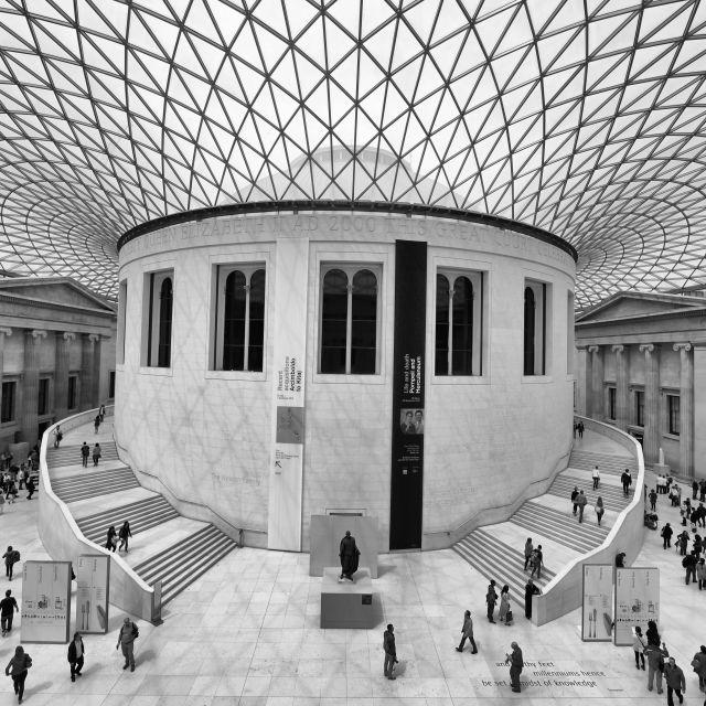 """The British Museum, London - Classic View"" stock image"