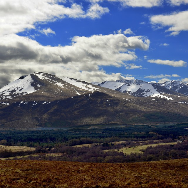 """Ben Nevis, Highlands, Scotland"" stock image"