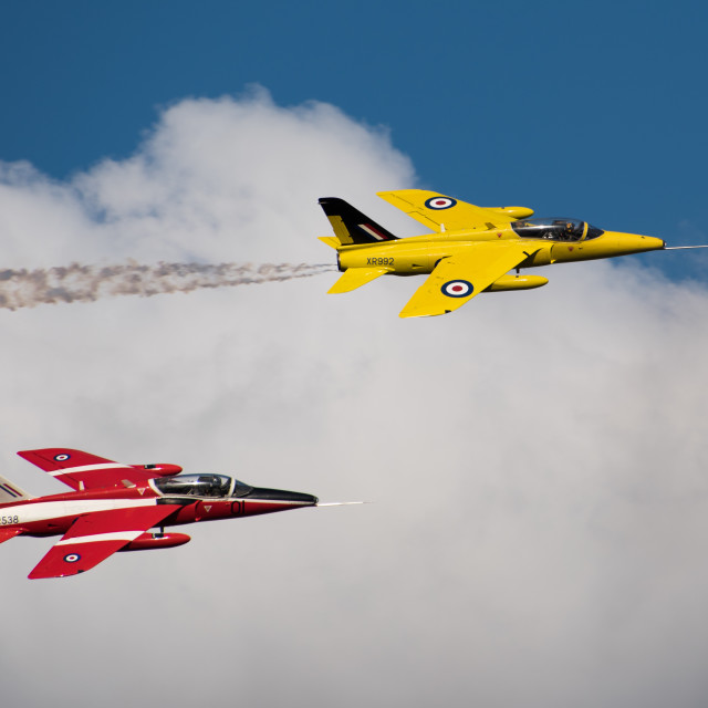 """Folland Gnat"" stock image"
