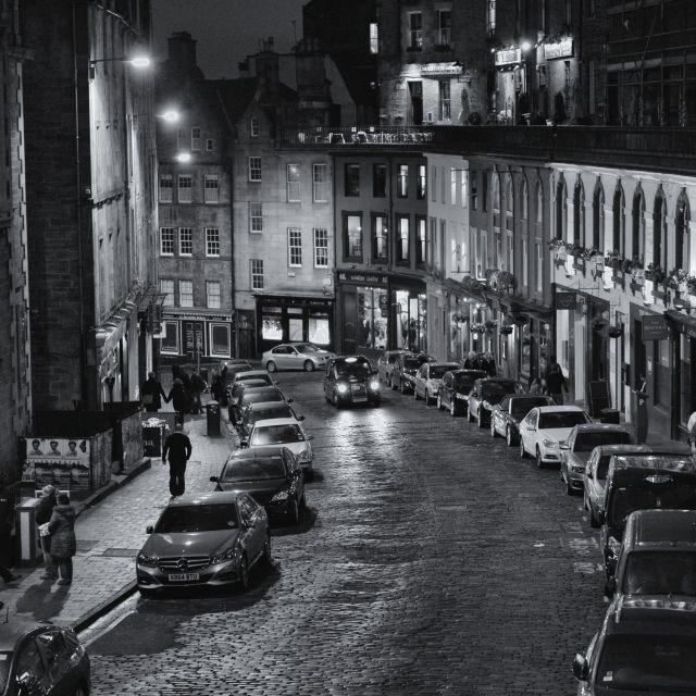 """Victoria Street, Edinburgh, Scotland"" stock image"