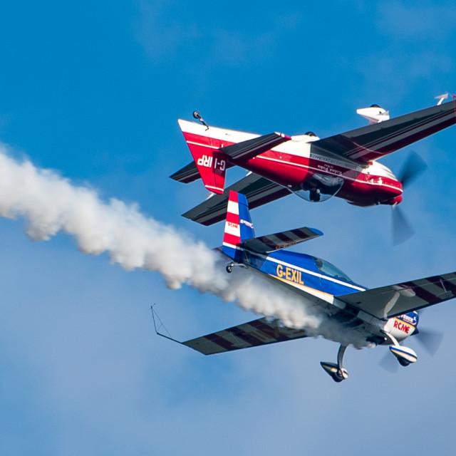 """Synchronised Aerobatics"" stock image"