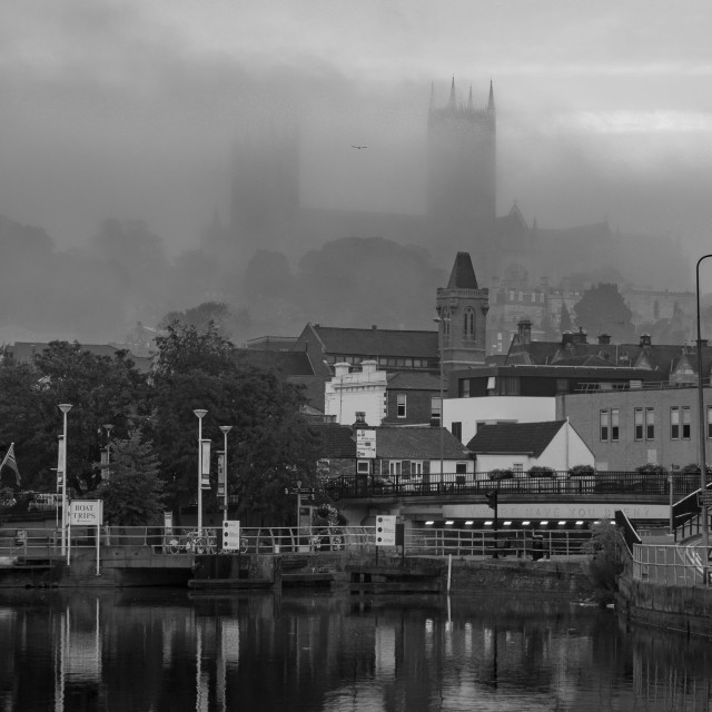 """""""Lincoln Cathedral"""" stock image"""