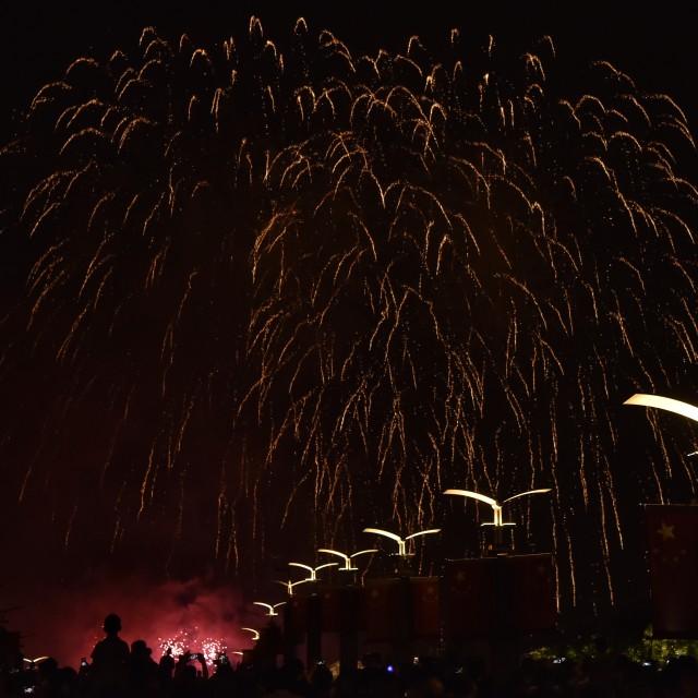 """Firework show-5"" stock image"