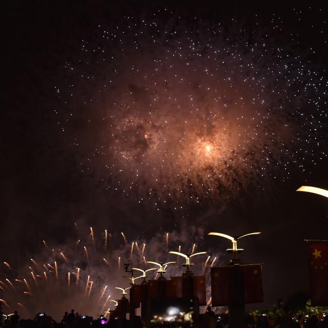 """Firework show-2"" stock image"