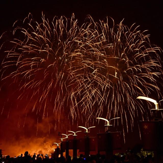 """Firework show-3"" stock image"