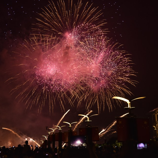 """Firework show-4"" stock image"