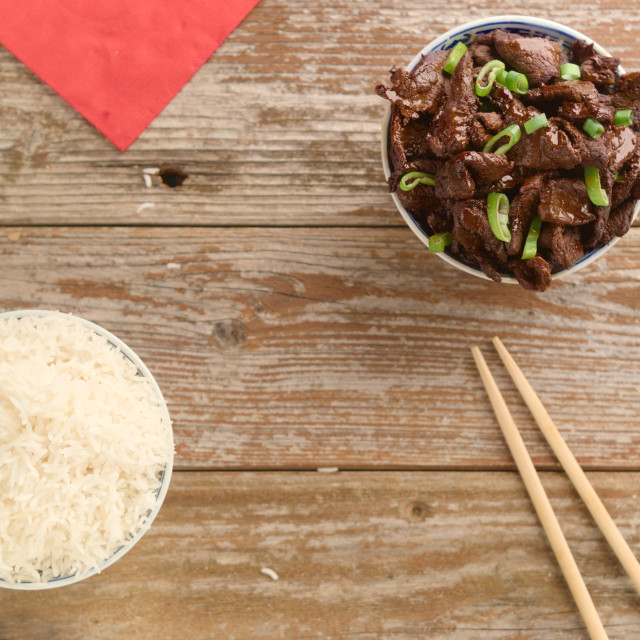 """Chinese food Soy sauce cooked beef with star anise"" stock image"