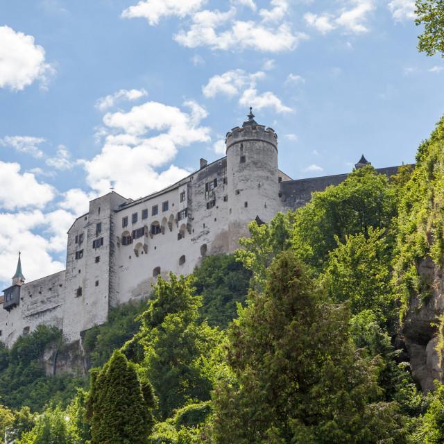 """Salzburg Castle Salzburg Austria"" stock image"