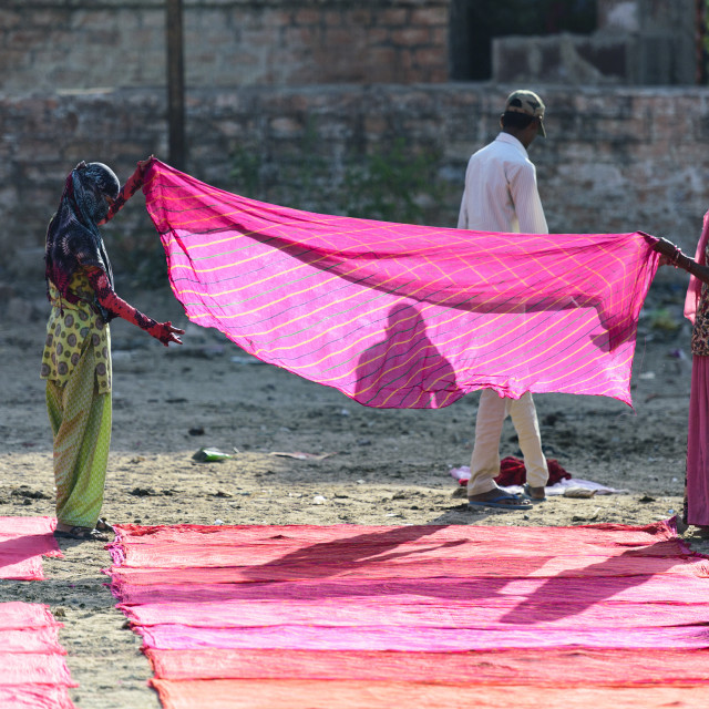 """Dhobi Ghat in Jodhpur."" stock image"