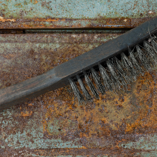 """Wire Brush"" stock image"