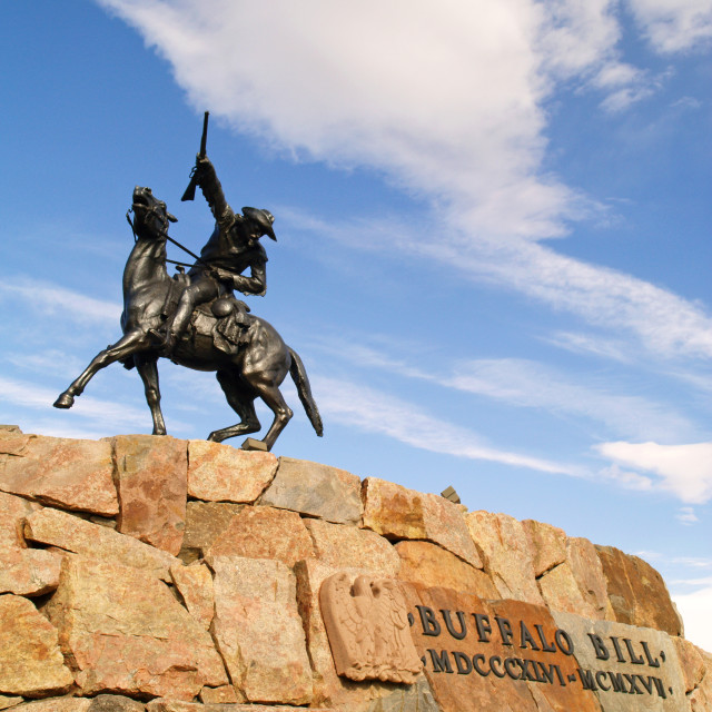 """Buffalo Bill"" stock image"