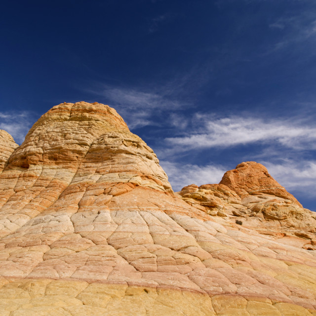 """The Southern Coyote Buttes"" stock image"