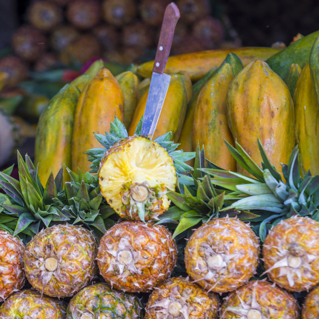 """Pineapples"" stock image"