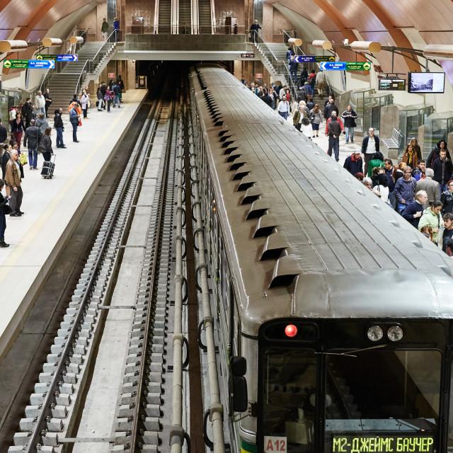 """Metro station"" stock image"
