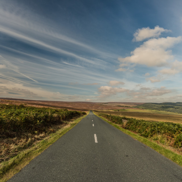 """""""Road to Yorkshire"""" stock image"""
