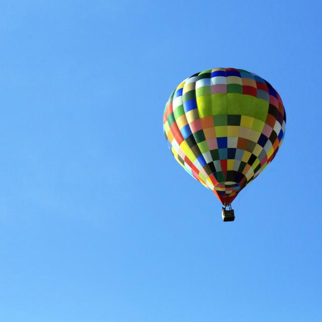 """Hot Air Balloon"" stock image"