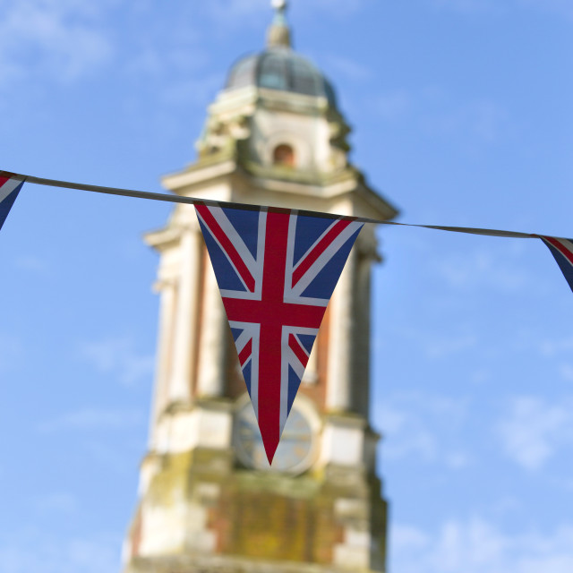 """British Flag"" stock image"