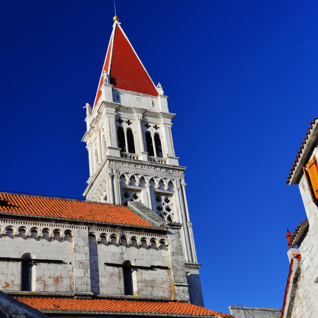 """Cathedral of Saint Lawrence in Trogir, Croatia"" stock image"
