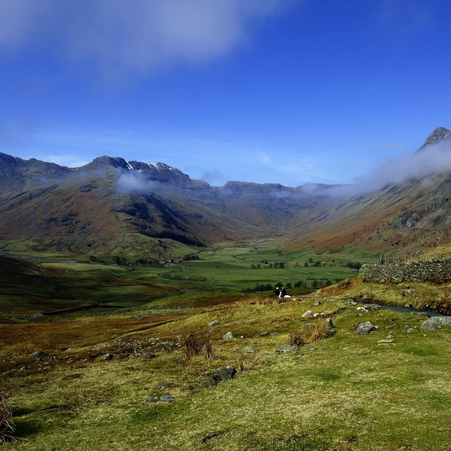 """Great Langdales"" stock image"