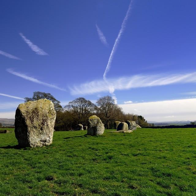 """Standing Stones"" stock image"