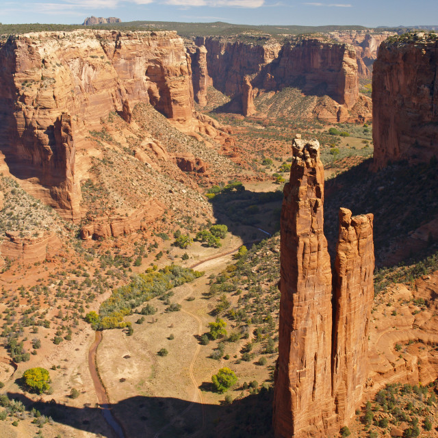 """Spider Rock"" stock image"
