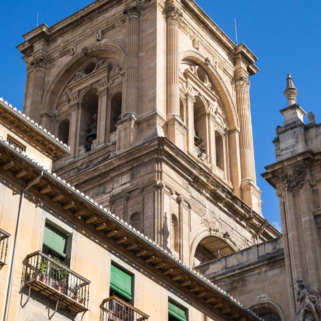 """Granada cathedral"" stock image"