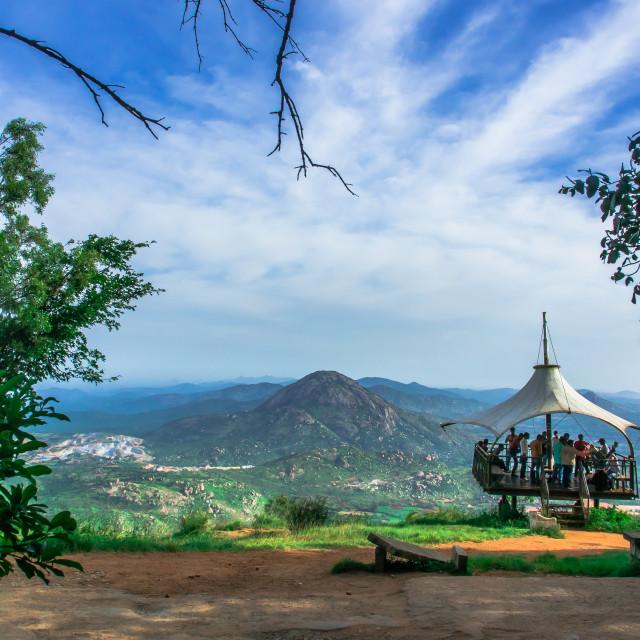 """""""Nandi Hills"""" stock image"""