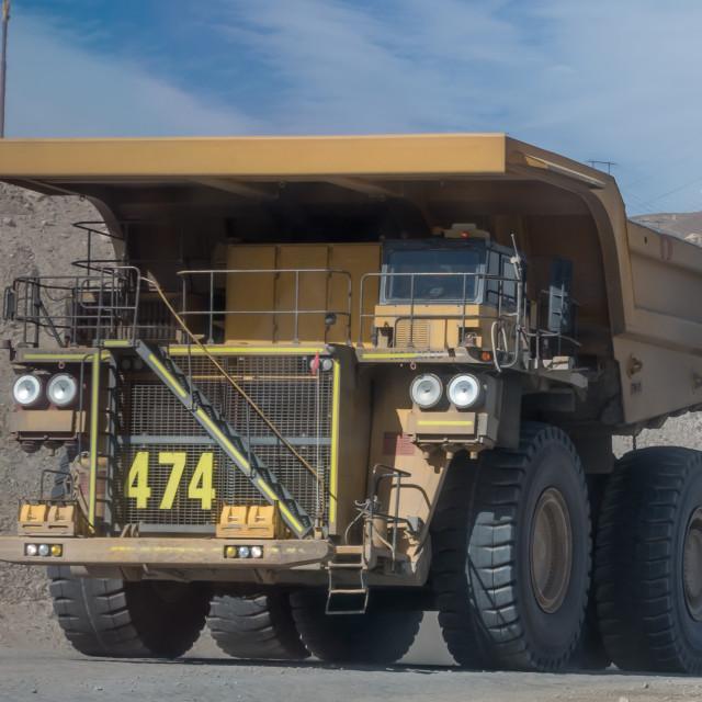 """""""Chuquicamata copper mine, Chile"""" stock image"""