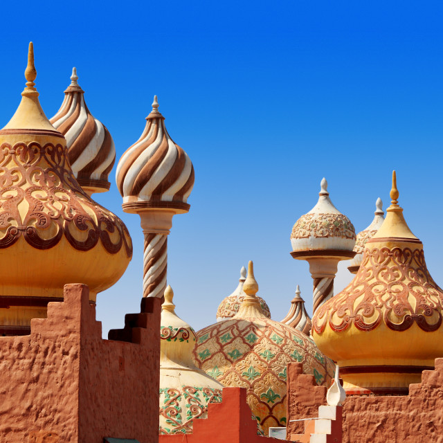 """Traditional Arabic architecture in Egypt"" stock image"