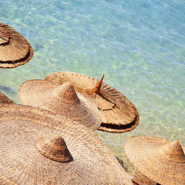 """""""Sea beach during hot summer day"""" stock image"""