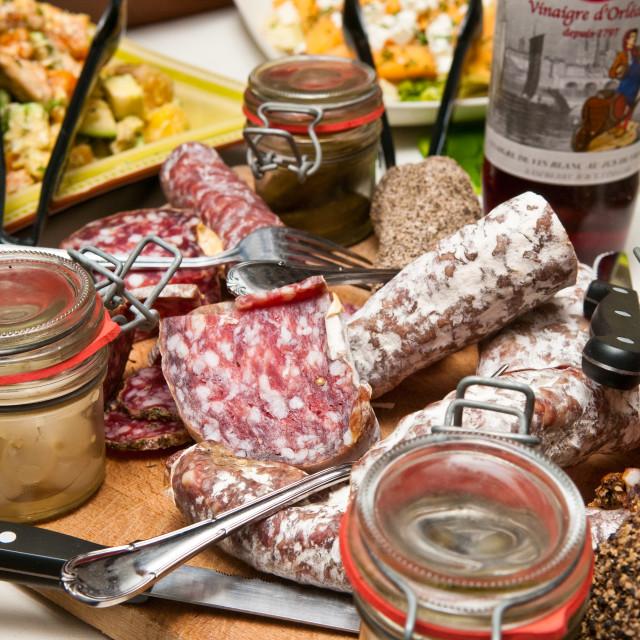 """Artisan Foods"" stock image"