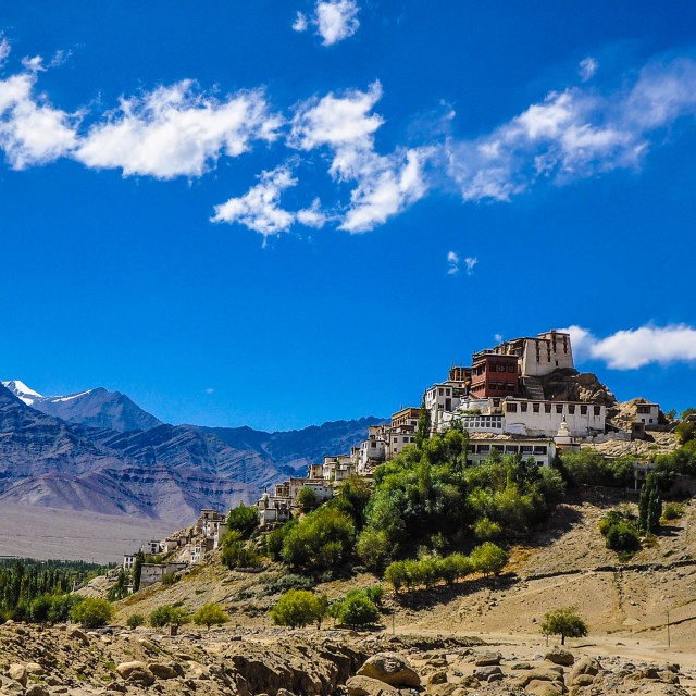 """Thiksey Gompa"" stock image"