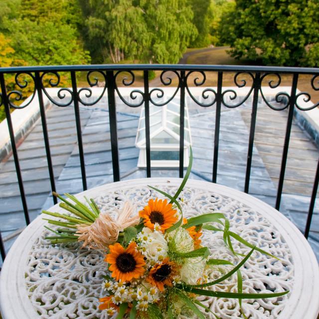 """Bridal Flowers"" stock image"