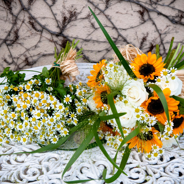 """Wedding Floristry"" stock image"