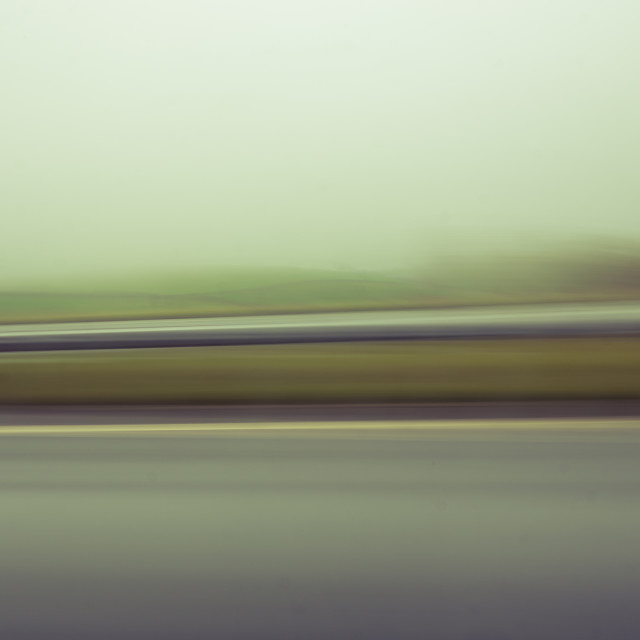 """Motorway blurs"" stock image"