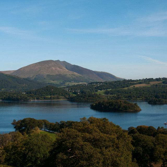 """Derwentwater Lake District"" stock image"