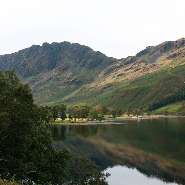 """""""Buttermere Lake District"""" stock image"""