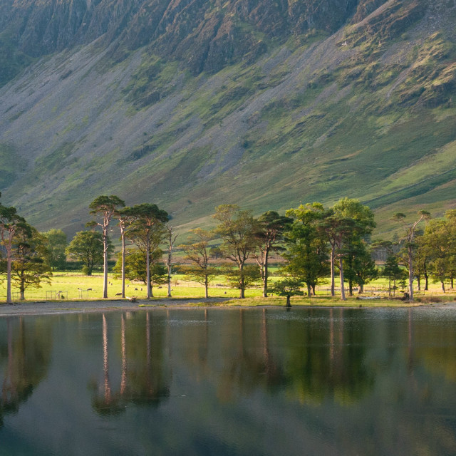 """Buttermere Lake District"" stock image"