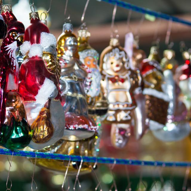 """Christmas items"" stock image"