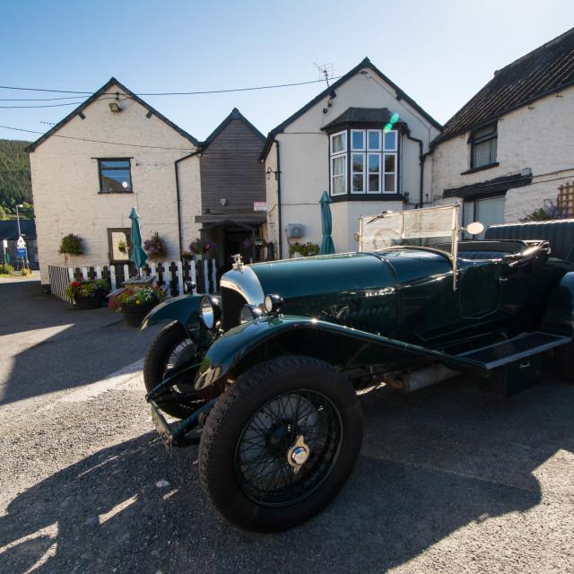 """""""1926 Bentley"""" stock image"""