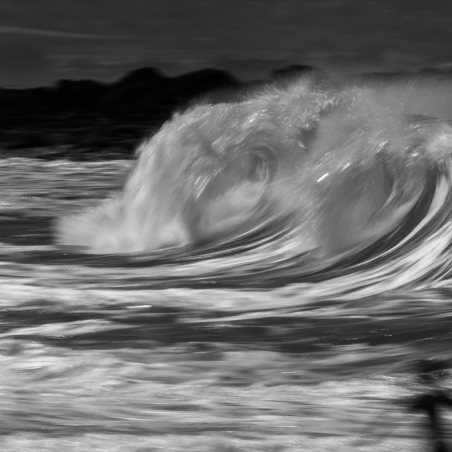"""""""Motion blur at the beach"""" stock image"""