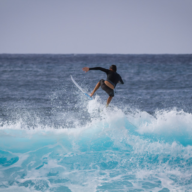 """""""Surf action"""" stock image"""
